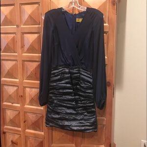 Nicole Miller navy Dress